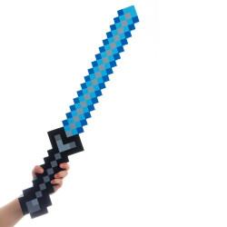 Espada Minecraft Azul