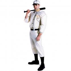 Fantasia Adulto Jogador de Baseball Beisebol