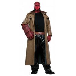 Fantasia Adulto Hellboy Luxo Extra Grande