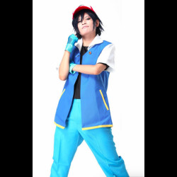 Fantasia Pokemon Ash Ketchum Adulto