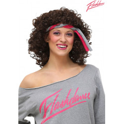 Peruca Flashdance Adulto