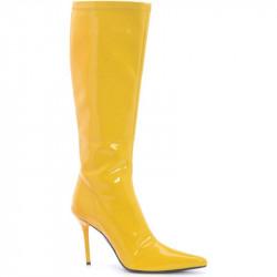 Bota Amarela Sexy Adulto Luxo