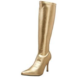 Bota Dourada Adulto Luxo