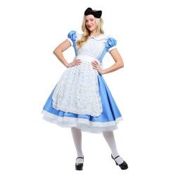 Fantasia Adulto Alice no País das Maravilhas Elite