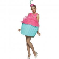 Fantasia Adulto Doce Cupcake