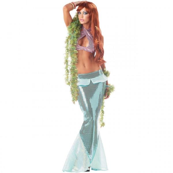 Fantasia Adulto Feminina de Pequena Sereia Ariel