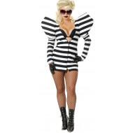 Fantasia Adulto Feminino Lady Gaga Prisão