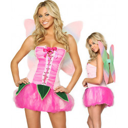 Fantasia Adulto Feminino Linda em Pink Sexy