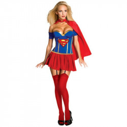 Fantasia Adulto Feminino SuperGirl Sexy