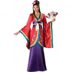 Fantasia Adulto Geisha Super Luxo