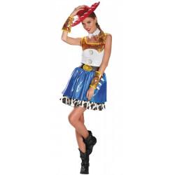 Fantasia Adulto Jessie Vestido Luxo