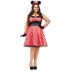 Fantasia Adulto Minnie Mouse Delicada