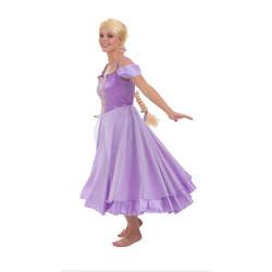 Fantasia Adulto Rapunzel Enrolados