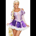 Fantasia Adulto Rapunzel Enrolados Sexy