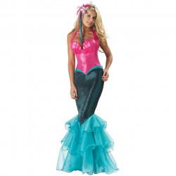 Fantasia Adulto Sereia Ariel Super Luxo