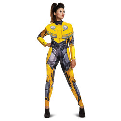 Fantasia Adulto Transformers Bumblebee Feminina