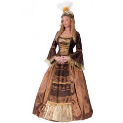 Fantasia Adulto Vestido Baronesa Luxo