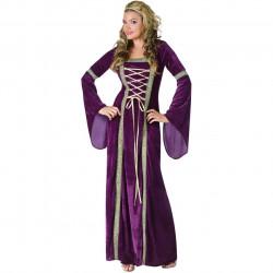 Fantasia Adulto Vestido Trançado Luxo
