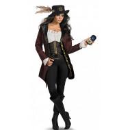 Fantasia Angélica Piratas do Caribe Adulto Prestige