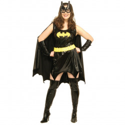 Fantasia Batgirl Adulto Luxo Plus