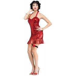 Fantasia Betty Boop Adulto Completo