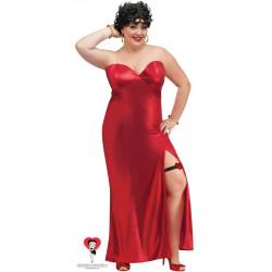 Fantasia Betty Boop Adulto Extra Grande