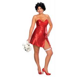 Fantasia Betty Boop Vestido Adulto