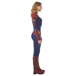 Fantasia Capitã Marvel Adulto Luxo