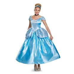 Fantasia Cinderela Adulto Clássica Luxo