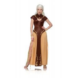 Fantasia Daenerys Targaryen Khaleesi Game of Thrones Adulto Vestido