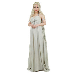 Fantasia Daenerys Targaryen Khaleesi Game of Thrones Vestido Adulto