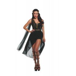 Fantasia Deusa Negra Sexy Luxo