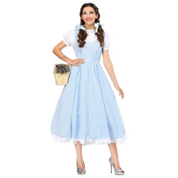 Fantasia Dorothy Mágico de Oz Luxo Adulto