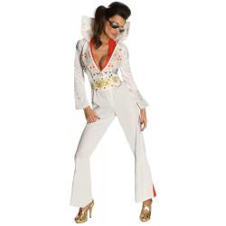 Fantasia Elvis Presley Adulto Feminina