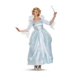 Fantasia Fada Madrinha da Cinderela Adulto Luxo