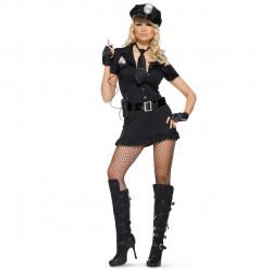 Fantasia Feminina de Polícia Guarda Sexy