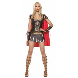 Fantasia Gladiadora Rainha Guerreira Romana Sexy