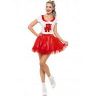 Fantasia Grease Rydell High Cheerleader Adulto