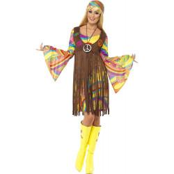 Fantasia Hippie Adulto Groovy Hippie