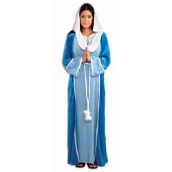 Fantasia Maria mãe de Jesus Adulto Luxo