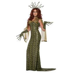 Fantasia Medusa Elegante Luxo Extravagante