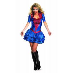 Fantasia Mulher Aranha do Homem Aranha Feminino Adulto Vestido