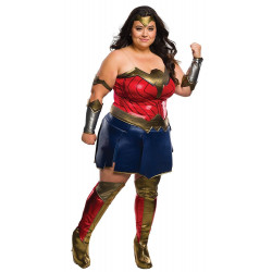 Fantasia Mulher Maravilha A Origem da Justiça Adulto Extra Grande