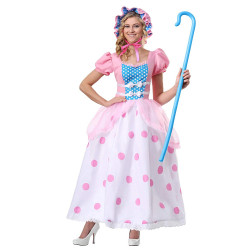 Fantasia Pastora de Ovelhas Bo Peep Toy Story Luxo Adulto