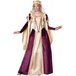 Fantasia Princesa Medieval Adulto Feminino Luxo
