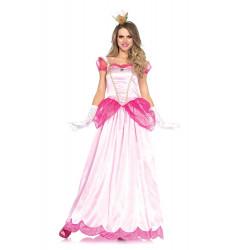 Fantasia Princesa Peach Adulto Classica