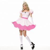 Fantasia Princesa Peach Adulto Sexy