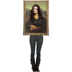 Fantasia Quadro Mona Lisa Luxo