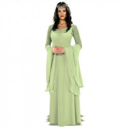 Fantasia Rainha Arwen Rei dos Aneis Adulto