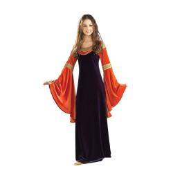 Fantasia Rainha Arwen Rei dos Aneis Vestido Adulto